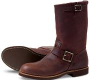 Red Wing Heritage, Engineer.  Rich red-brown, buckles. Plus, it has engineer in the title. Boots, huzzah.