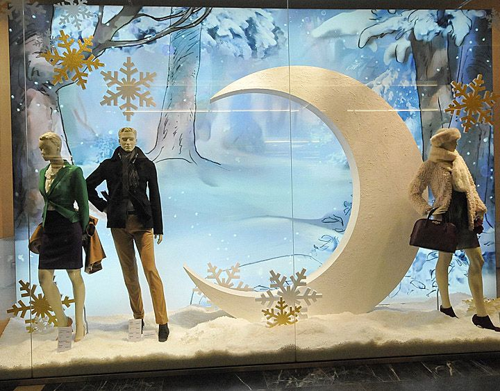 Peek & Cloppenburg Christmas windows 2012, Budapest visual merchandising