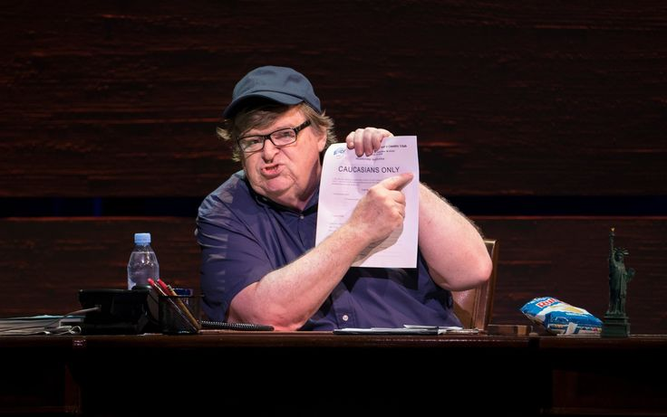 Donald Trump and Michael Moore Quarrel Over Broadway Show