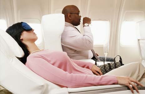 Traveling Internationally? Consider a Business Class Seat.