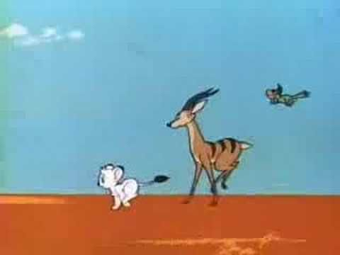 Kimba, the White Lion (1965) - Trailer.  My favorite cartoon when I was little!
