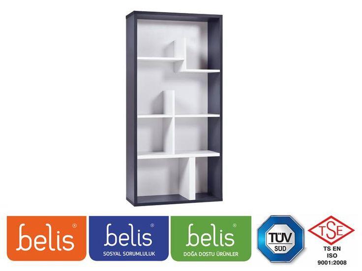 Belis Multiplus Kitaplık TR5138 | Kitaplık | E-Belis - Bebek Odası,Bebek Karyolası
