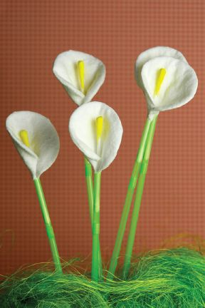 Bring out the bouquets! This Cotton Round and Q-Tip Calla Lily Flowers craft is super simple to make and can be an adorable DIY decor piece. Be sure to protect your table from messy glue drips with Bounty Paper Towels.