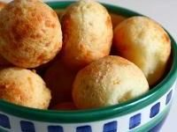 Pães de queijo are tasty little cheese buns popular in Brazil. They are made with yuca (cassava) flour, which gives them an interesting taste and texture and makes them a gluten-free treat.