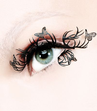Paper EyelashesFal Eyelashes, False Eyelashes, Butterflies, Paperself, Paper Eyelashes, Makeup, Beautiful, Hunger Games, Deer