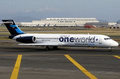 IMG_3456 (Charlie_tj) Tags: mexicana de aviation boeing 717 spotting airliner avion oneworld aviacion mexicanaclick
