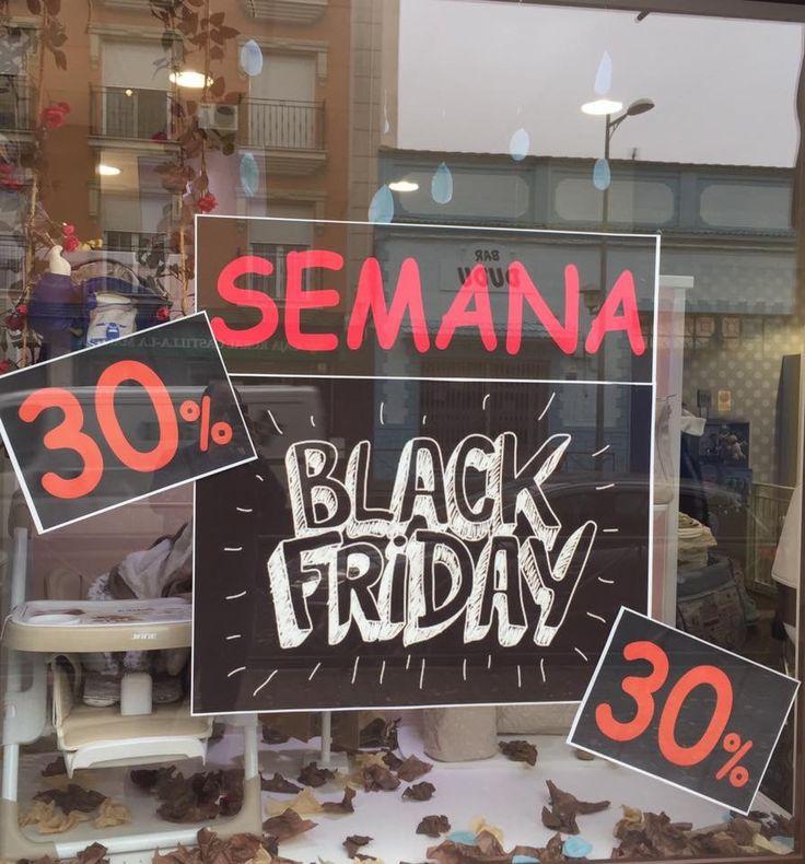 Seguimos con nuestra Semana Black Friday, aprovéchate del 30% en moda bebe-infantil y miles de productos con descuentos especiales. #blackfriday #ofertas #descuentos #bebes #mamas