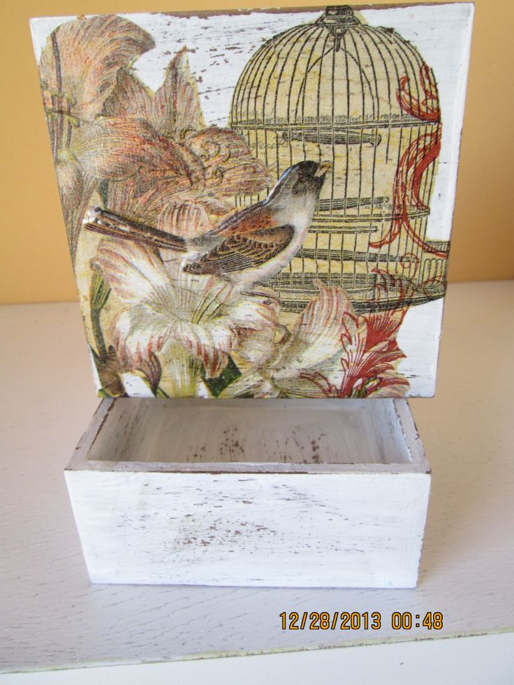 Decoupage On Pinterest Artesanato Shabby Chic And Do It Yourself