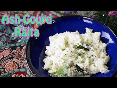 Ash Gourd Raitha | Poosinikai Pachadi - Dosatopizza