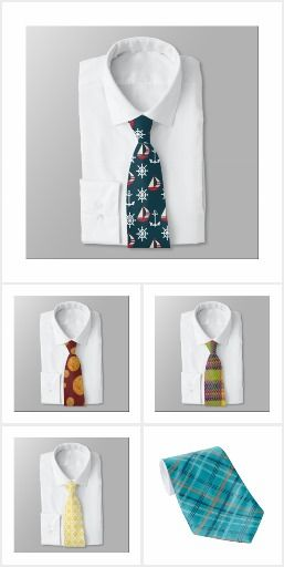 Pattern Camp Ties