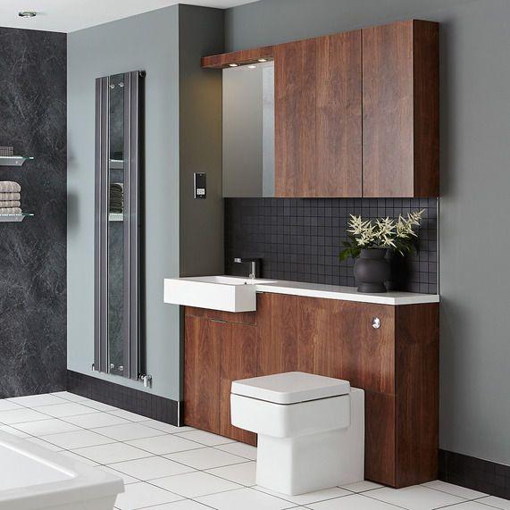 myplan 600 base cabinet walnut bathstore