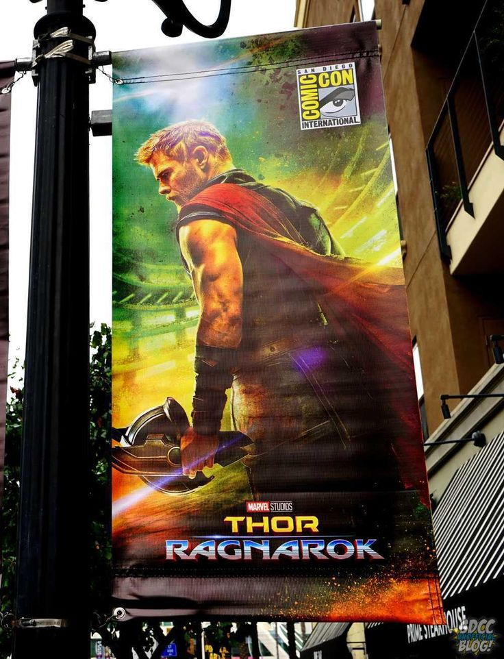 [#SDCC17] I banner di #ThorRagnarok e #BlackPanther