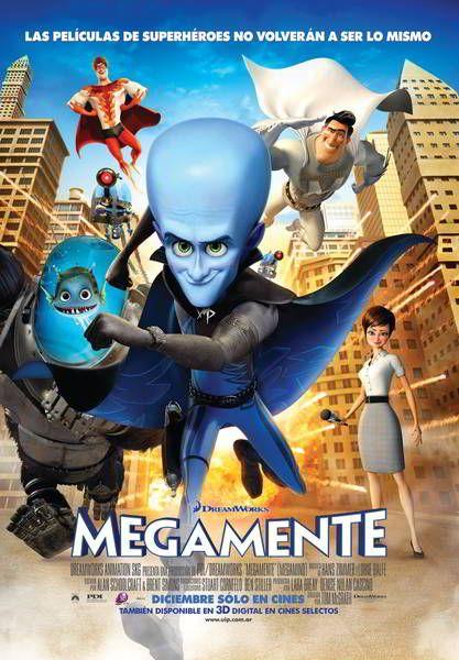 ver Megamente (Megamind) 2010 online descargar HD gratis español latino subtitulada