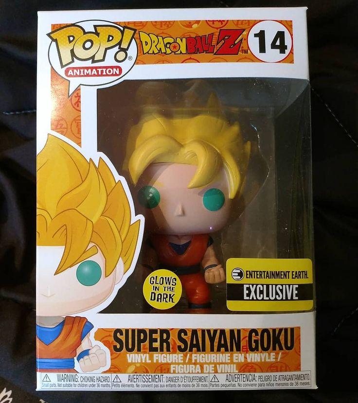 #MailCall from @entearth. I finally got my glow in the dark Goku!
