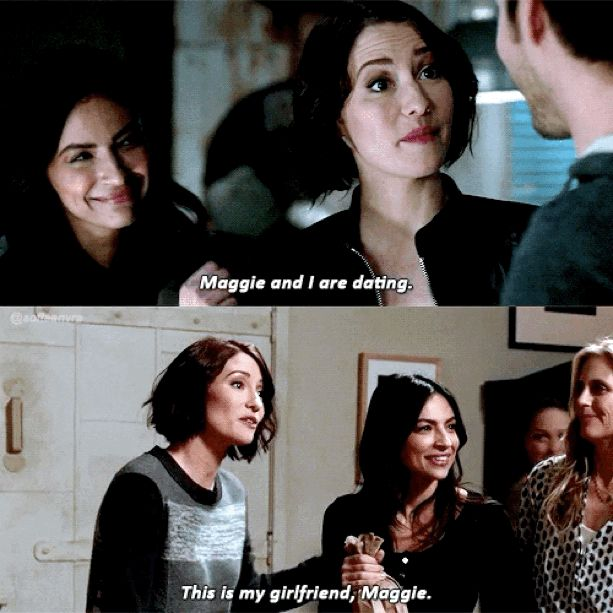 Maggie green lesbian