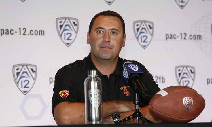 """Steve Sarkisian Files Wrongful Termination Lawsuit Against USC = Last Monday, USC athletic director Pat Haden announced that he was removing """"interim"""" from Clay Helton's title, naming him the full-time head coach moving forward. Helton took over after Haden fired former head coach Steve Sarkisian in mid-October....."""