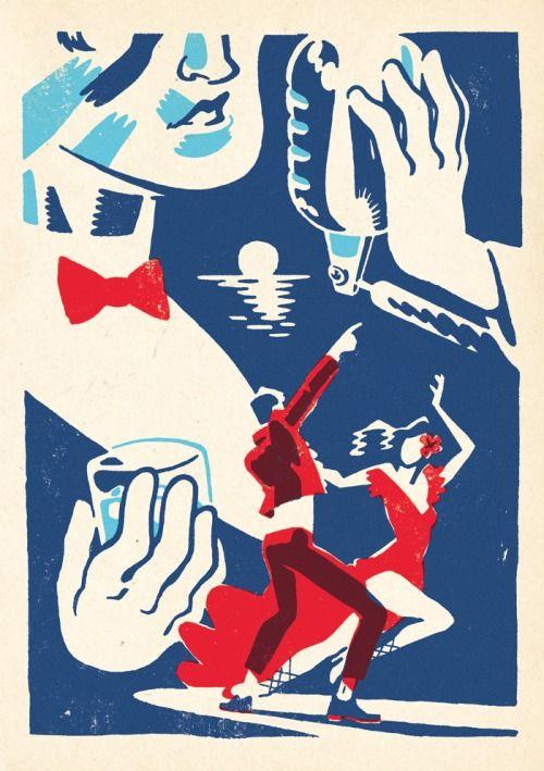 Jan Bielecki- Havana Club, self-initiated poster