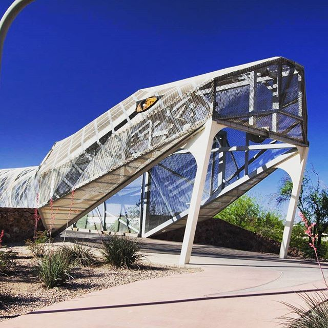 Rattlesnake Bridge | Tucson | Arizona | Photo via Instagram by @coralbird_journeys | http://www.visittucson.org/