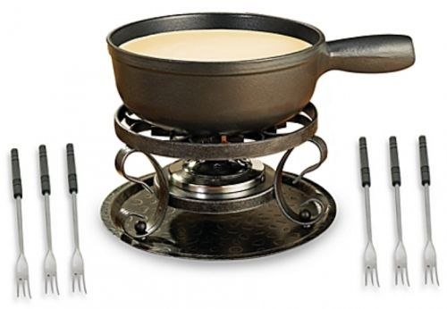Fondue Sets 66749: Swissmar® Lugano Black Cheese Fondue Set Including Pot Wrought Iron Rechaud -> BUY IT NOW ONLY: $111.99 on eBay!