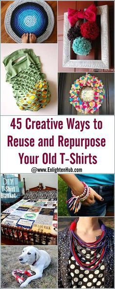 craft ideas for old t shirts 45 creative ways to reuse and repurpose your t shirts 7594