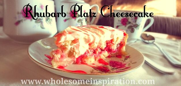 The famous Mennonite dessert Rhubarb Platz turned into a cheesecake. Enjoy this classic dessert with a twist, everyone will love it!