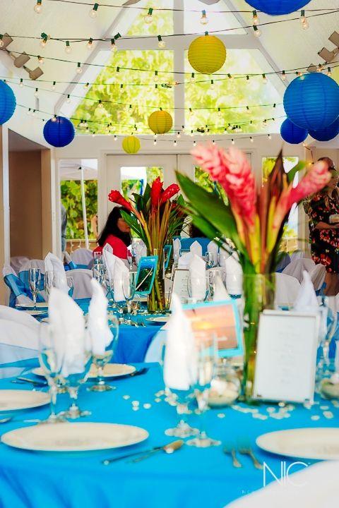 Pelican beach clubhouse wedding