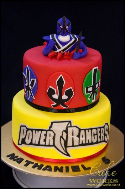 Power ranger cake, The o'jays
