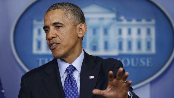 """Il presidente Usa conferma che non ci sarà impegno diretto delle forze armate Usa, e al presidente Maliki lancia un avvertimento: """"I leader"""