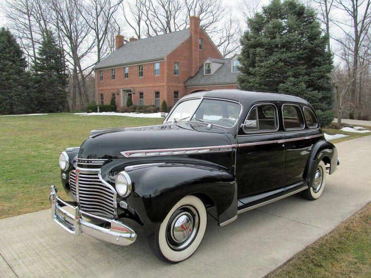 1941 Chevrolet Special Deluxe 4 Door Sport Sedan   Old