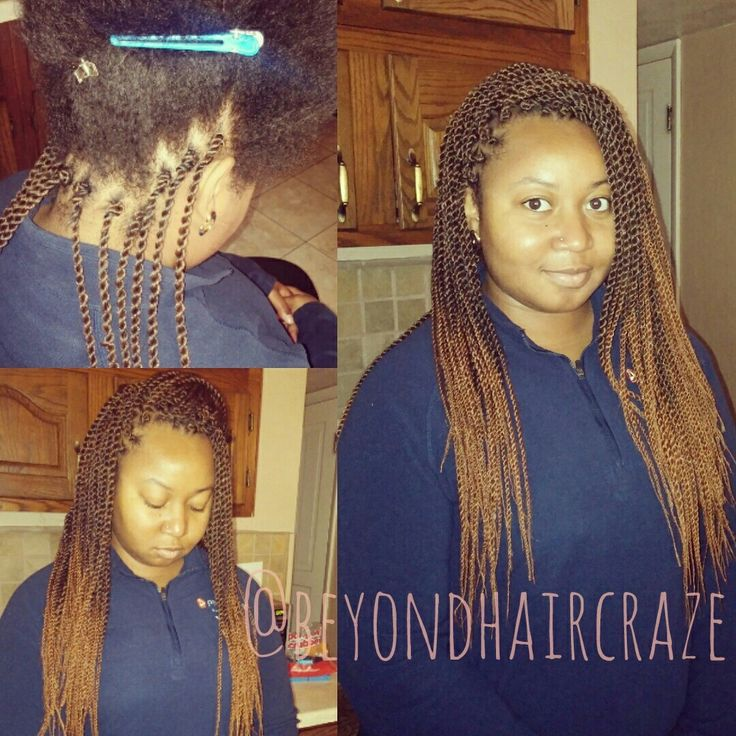 Cute natural looking crochet Senegalese twist  @beyondhaircraze