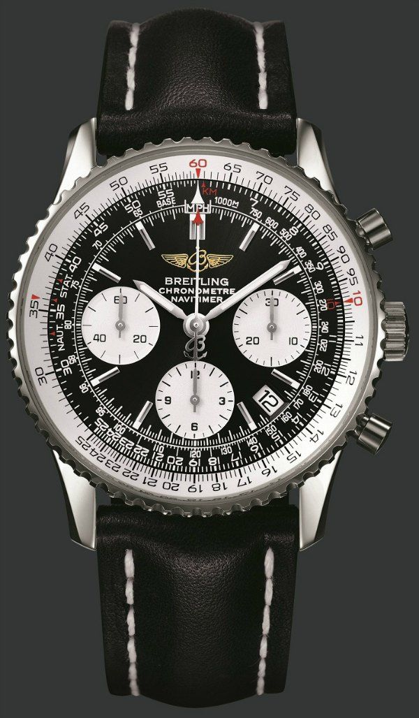 For those who own a Breitling Cosmonaute or other watch with Bezel Rule: How To Use A Watch Bezel Slide Rule