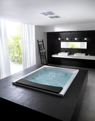 Die besten 25+ Yes badezimmer Ideen auf Pinterest Jacuzzi im - badewanne eingemauert modern