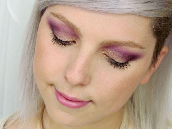 Odvážné Fialové Kouřovky / Bold Purple Smokey Eyes Makeup Tutorial http://getthelouk.com/?p=3386