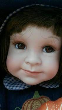Puppe Porzellan - Joy, das Herbstkind -The Ashton Drake Galleries in Bayern - Weißenburg in Bayern   eBay Kleinanzeigen