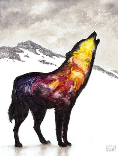 Spunky Real Deals: Animal Symbolism: The Crow, Raven, and Wolf
