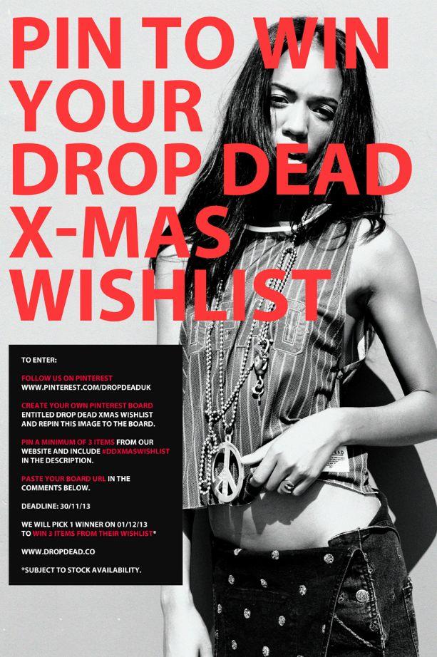 Drop Dead Xmas Wishlist