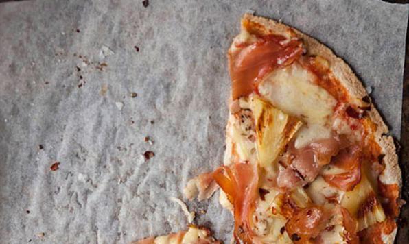 Appehtite - Hawaiian Tortilla Pizza