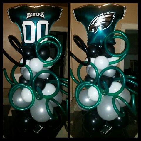 Philadelphia Eagles Centerpieces I Love Them FlyEaglesFly GoEagles