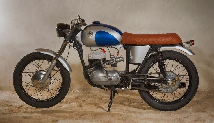 1961 Bultaco Mercurio 155cc. Preparació café.