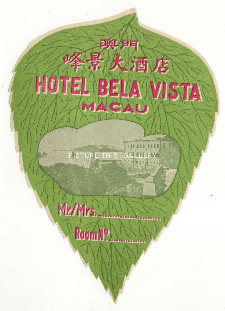 Picture This | L5327 - Bela Vista Hotel, Macau
