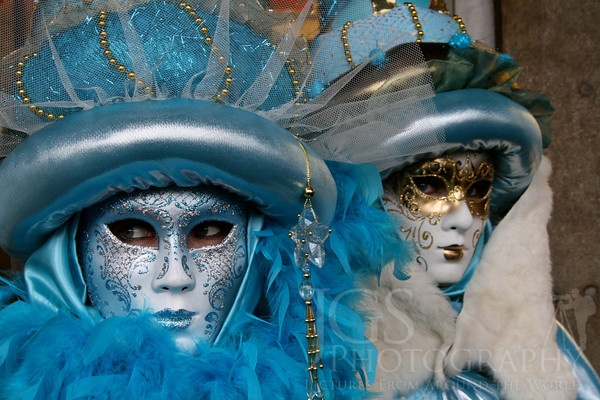 Venice Carnival. Nice and tight photo with sharp focus and no distractions.