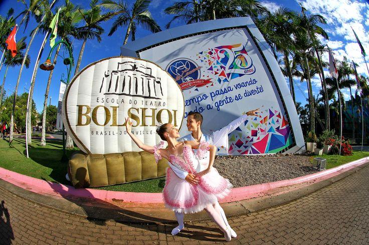 Dia Mundial da Dança no Beto Carrero World, em parceria com a Escola Bolshoi Brasil!