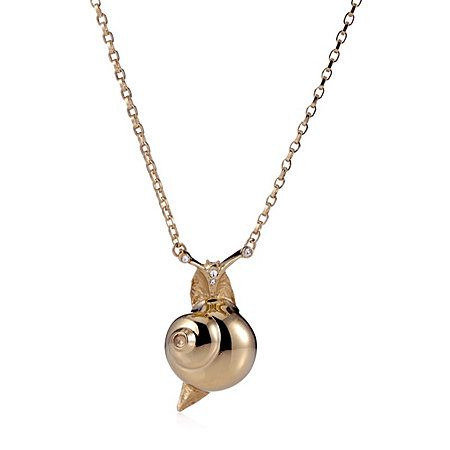 Bill Skinner Snail Pendant with 45cm Chain