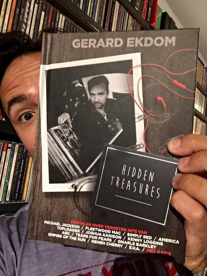 13 september , Yes!! Vanaf vandaag in de boekhandel: Ekdoms Hidden Treasures! 1 boek, 4cd's, 80 vergeten hits en hun verhalen! Ben best trots op het resultaat! —  enthousiast.