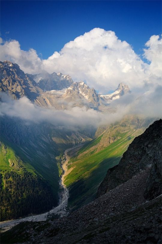 Western Caucasus Mountains, Russia, Ivan Kulikov