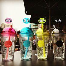 2016 tampa de rosca de plástico chá de água / suco / garrafa de café copo 560 ml ao ar livre bicicleta equipamento desportivo para crianças de viagem estudante(China (Mainland))