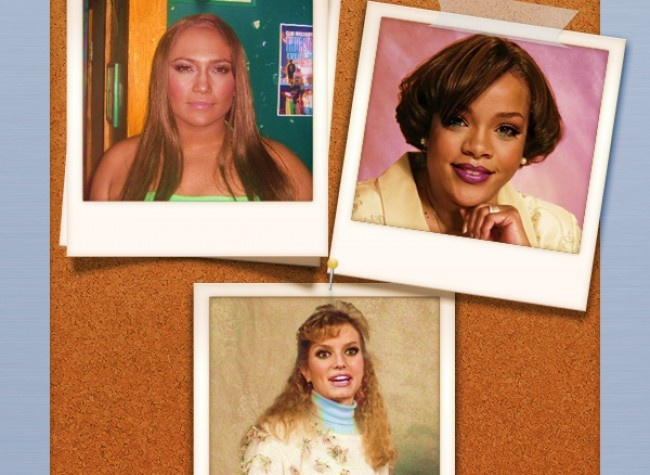 """Celebrities as Real People: 'The Anti-Airbrush' Photo Series"" by Danny Evans""... This is hilarious!"