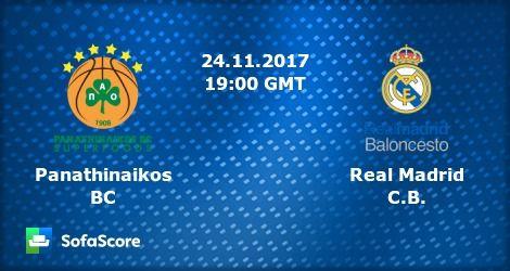 ΠΑΝΑΘΗΝΑΪΚΟΣ - ΡΕΑΛ ΜΑΔΡΙΤΗΣ  Panathinaikos - Real Madrid   live streaming