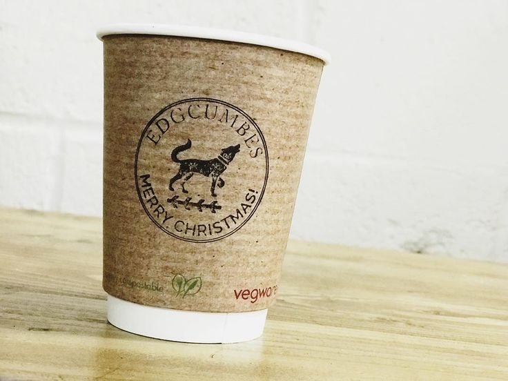 No fancy colours or extra stuff...just a simple Christmas wish! Our cups are getting in the festive mood! #vegware #biodegradable #compostable #edgcumbes #edgcumbescoffeeandtea #edgcumbescoffee #specialitycoffee #caffeinelovers #lovecoffee #edgecafe