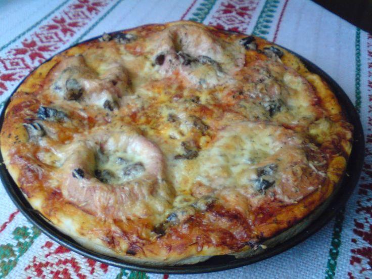 Paprikás krumpli: Vulkáni pizza